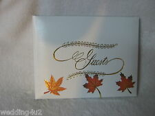 Wedding Any Event Birthday Parties Lodge Hunting Camp Guest Book Fall Leaves