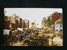 CITY HALL & JAQUES CARTIER MARKET MONTREAL CANADA  POST CARD 1900s #352