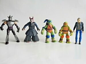 Lot of 5 TMNT Collections Character Figurines