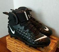 Nike Force Savage Varsity 2 TD Football Cleats Black Mens Shoes AQ8155-001 sz 9
