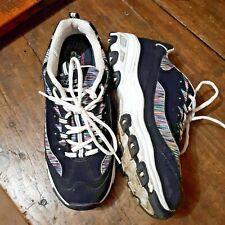 Skechers Womens Shoes Sz 11 D'Lites Memory Foam Air Cooled Sneakers Athletic