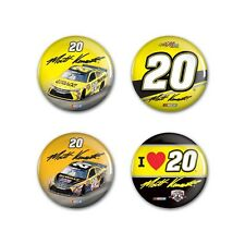 MATT KENSETH #20 DOLLAR GENERAL 4 PACK BUTTONS BRAND NEW FREE SHIPPING WINCRAFT