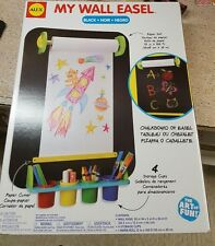 ALEX Toys Artist Studio My Wall Easel art set chalk board paper holder