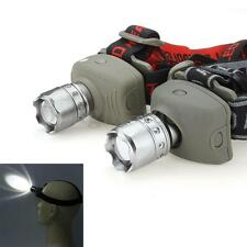 5W 300lm LED Zoomable Tête Lampe Frontale Torche Headlight Headlamp Tactique
