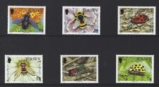 Jersey 2008 Insectes Second Series Lot de 6 Monté Excellent État , MNH