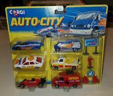 Corgi Hot Wheels Diecast set - Auto City Team Racing