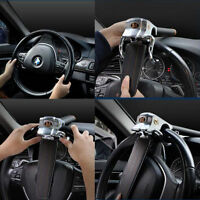 Foldable Vehicle Car Steering Wheel Security Lock With 2 Keys Anti Theft Devices