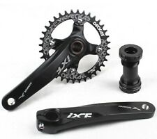 MTB Bike Crankset crank arm 170mm w BB Narrow Wide Single Chainring 32 34 36 38T