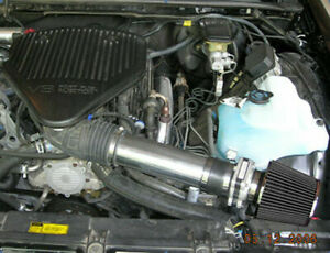 Short Ram Air Intake Kit + BLACK Filter for 94-96 Impala SS / Caprice 4.3/5.7 V8