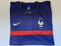 NWT Nike France Vaporknit Home 2020 2021 Soccer Football Jersey Mens Large