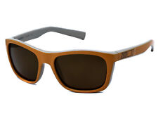 NEW Nike Vintage 73 EV0598 822 Orange Tan Striped / Brown Sunglasses