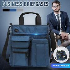 Men's Nylon Shoulder Bag Messenger Business Briefcases Laptop Handbags Tote  #