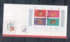 China Hong Kong ,1998 Year of OxTiger  on FDC