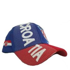 CROATIA WORLD CUP 2018 3D COUNTRY HAT ONE SIZE FITS ALL SHIPS FROM CANADA
