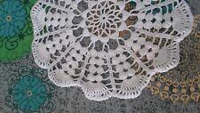 ANCIEN  NAPPERON coton crochet 24 cm@OLD