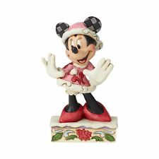 Disney Traditions Minnie Mouse Christmas Personality Pose Jim Shore 6002843