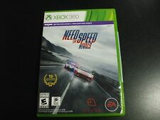Replacement Case (NO GAME) NEED FOR SPEED RIVALS  XBOX 360