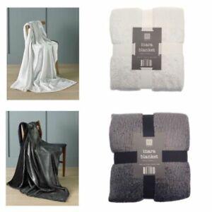 COUNTRY CLUB INARA Glitter Design Blanket Throws 130 X 170 cm