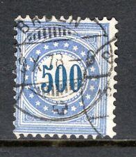 Switzerland - 1878 Postage Due -  Mi. 9 I N VFU (I)