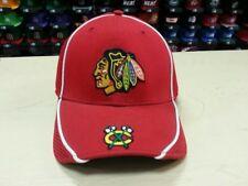 New Era NHL Chicago Blackhawks Team Logo Red 49fourty Flex Hat Cap NewEra