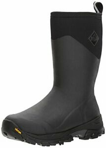 Muck Arctic Ice Extreme Mid-Height Winter Boots Black Grey Mens 12 US NEW