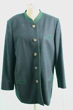Loden Frey Trachten Jacke ca 44/L grau grün urig Fest edl Damen zum Jodelpreis!