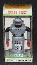Zeroid 1969 Ok Toys Zerak Robot Ideal Boxed Zintar