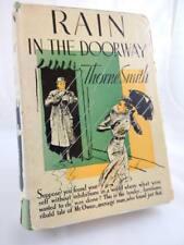 RAIN IN THE DOORWAY Thorne Smith Vintage 1933 HC/DJ 1st/1st Edition Rare