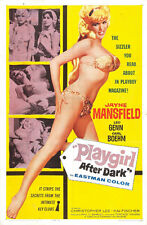 """Jayne Mansfield Too hot to Handle Movie Poster Replica 13x19"""" Photo Print"""
