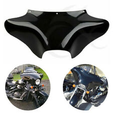 Black Solid Front Outer Batwing Fairing Fit For Harley Heritage Yamaha Suzuki
