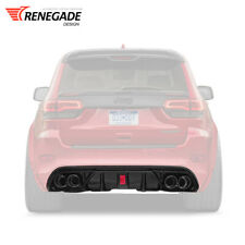 "Diffuser for rear bumper Jeep Grand Cherokee WK2 SRT 2012-2020 ""Renegade"""