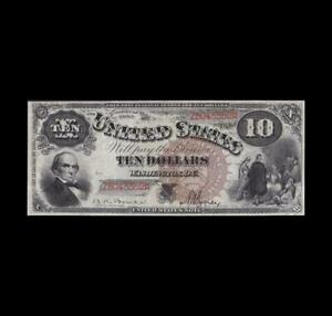 GORGEOUS 1880 $10 LEGAL TENDER STRONG VERY FINE