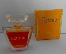 Miniature de parfum Poême de Lancôme P 4  ml + boite