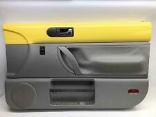 02 05 Vw Beetle Hardtop Passenger Front Door Inner Door Card Trim Panel Yellow Fits 2004 Volkswagen Beetle