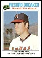 1977 Topps Nolan Ryan California Angels #234