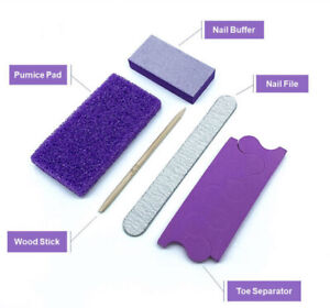 Manicure & Pedicure disposable Kit of 15 Nail Salon Home Pumice Stone Foot Care