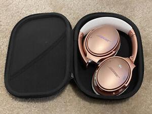 Bose QuietComfort 35 II Wireless Headphones - Rose Gold