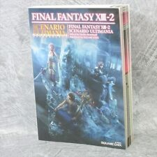 FINAL FANTASY XIII-2 13-2 Scenario Ultimania Guide PS3 XBox Book SE*