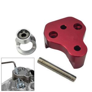 Red CNC Aluminum Valve Spring Compressor Tool for Subaru WRX STI Forester Legacy