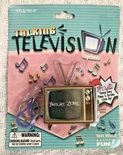 Twilight Zone Vintage Novelty Talking Tv Keychain 1999 Basic Fun New Sealed