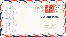 DR JIM STAMPS US GREENVILLE ALABAMA AIRPORT DEDICATION AIR MAIL EVENT COVER 1961