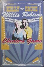 KELLY & BRUCE, CHEATERS GAME POSTER (Z5)