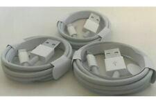 3x OEM Original 1M Lightning USB Charger Cable For Apple iPhone 6s 7 Plus 8 X 11