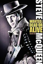 Wanted: Dead or Alive - Season 1 (DVD, 2005, 4-Disc Set) Steve McQueen