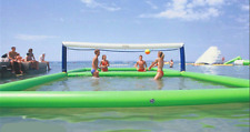 10*5m Outdoor Inflatable Volleyball Court for Water//Beach Game with Air Pump  m