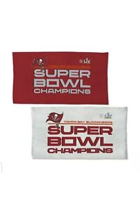 """Tampa Bay Buccaneers Super Bowl Champions Collectable Locker Room Towel 22""""x42''"""