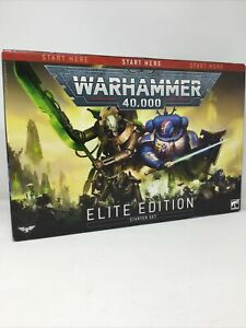 Games Workshop Warhammer 40K Elite Edition Starter Set NIB Free Shipping
