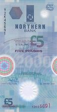01 January, 2000 £5 Polymer Banknote Y2K 45691 UNCIRCULATED