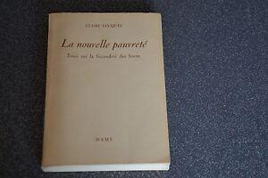 La nouvelle pauvreté / Claire Lucques / Belle dédicace/ E2