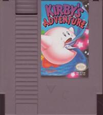NES NINTENDO Game:  KIRBY'S ADVENTURE - Original Authentic - 1985 Classic Game